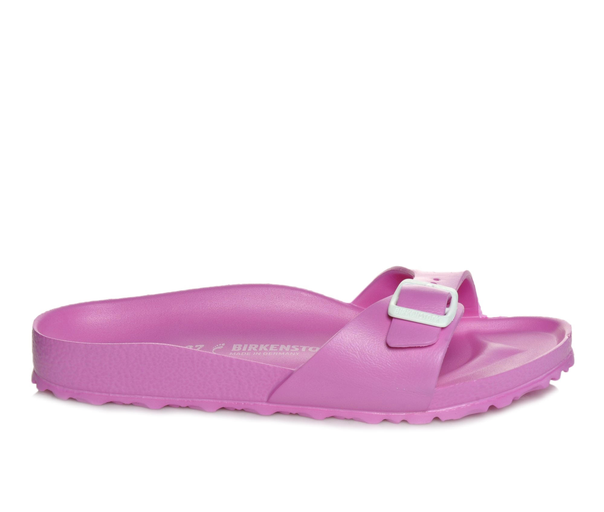 Women's Birkenstock Madrid Essentials Sandals (Pink)
