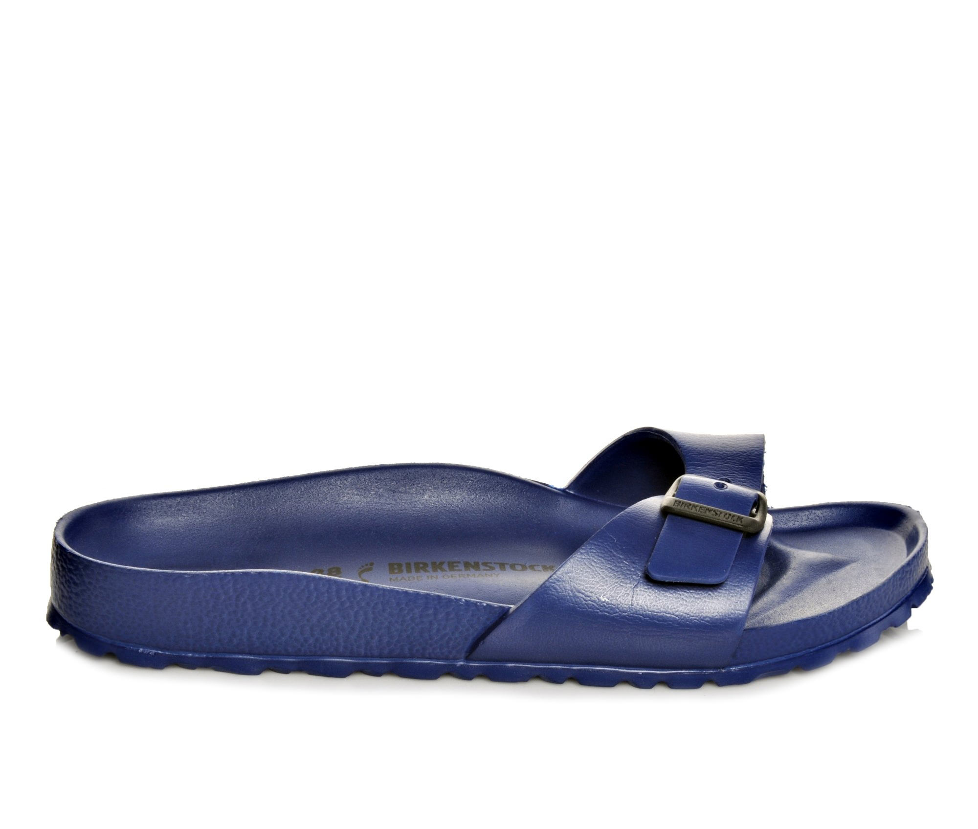 Women's Birkenstock Madrid Essentials Sandals (Blue)