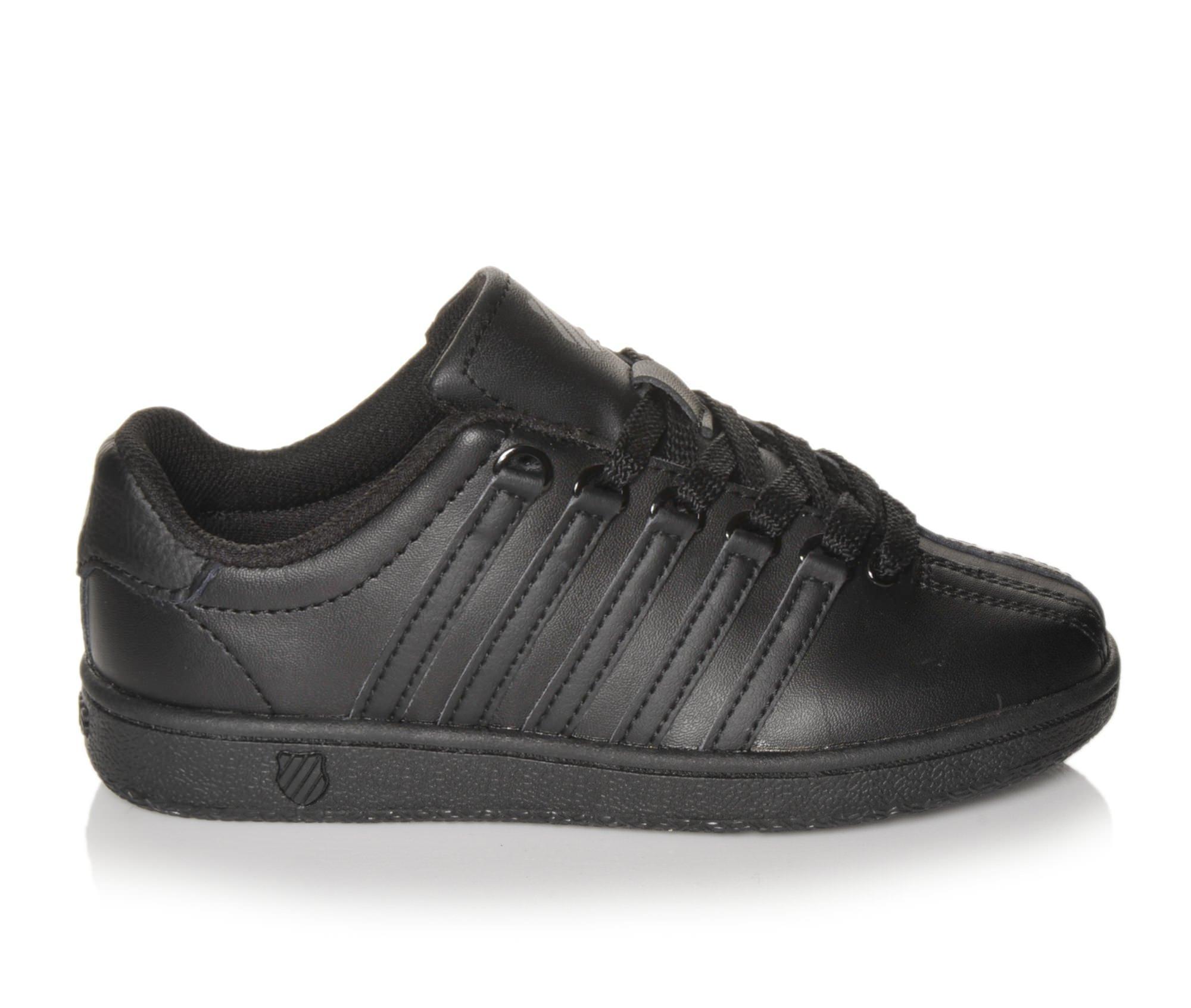 Girls' K-Swiss Classic VN Sneakers (Black)