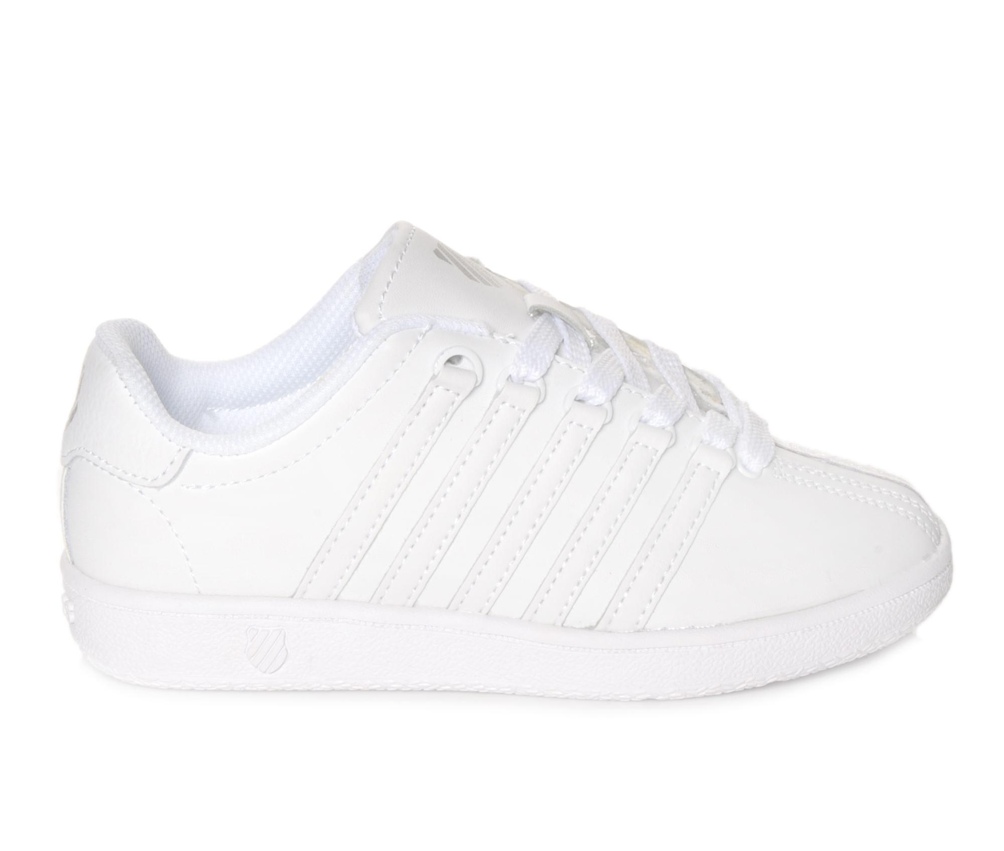 Girls' K-Swiss Classic VN Sneakers (White)