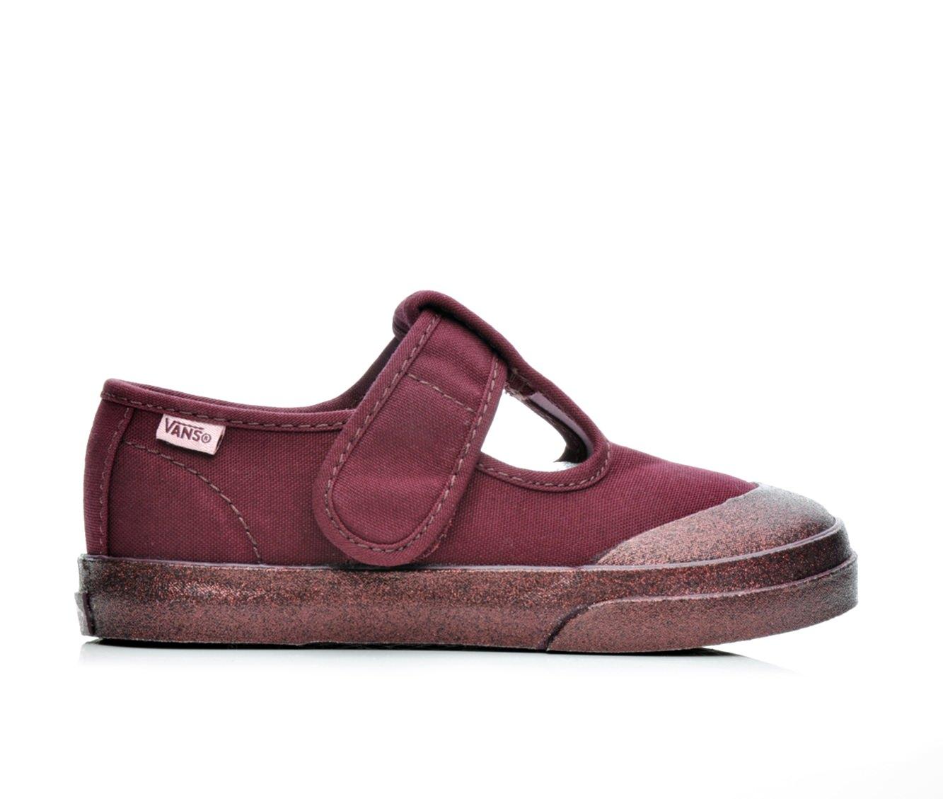 Girls' Vans Infant Leena Velcro Sneakers (Red)