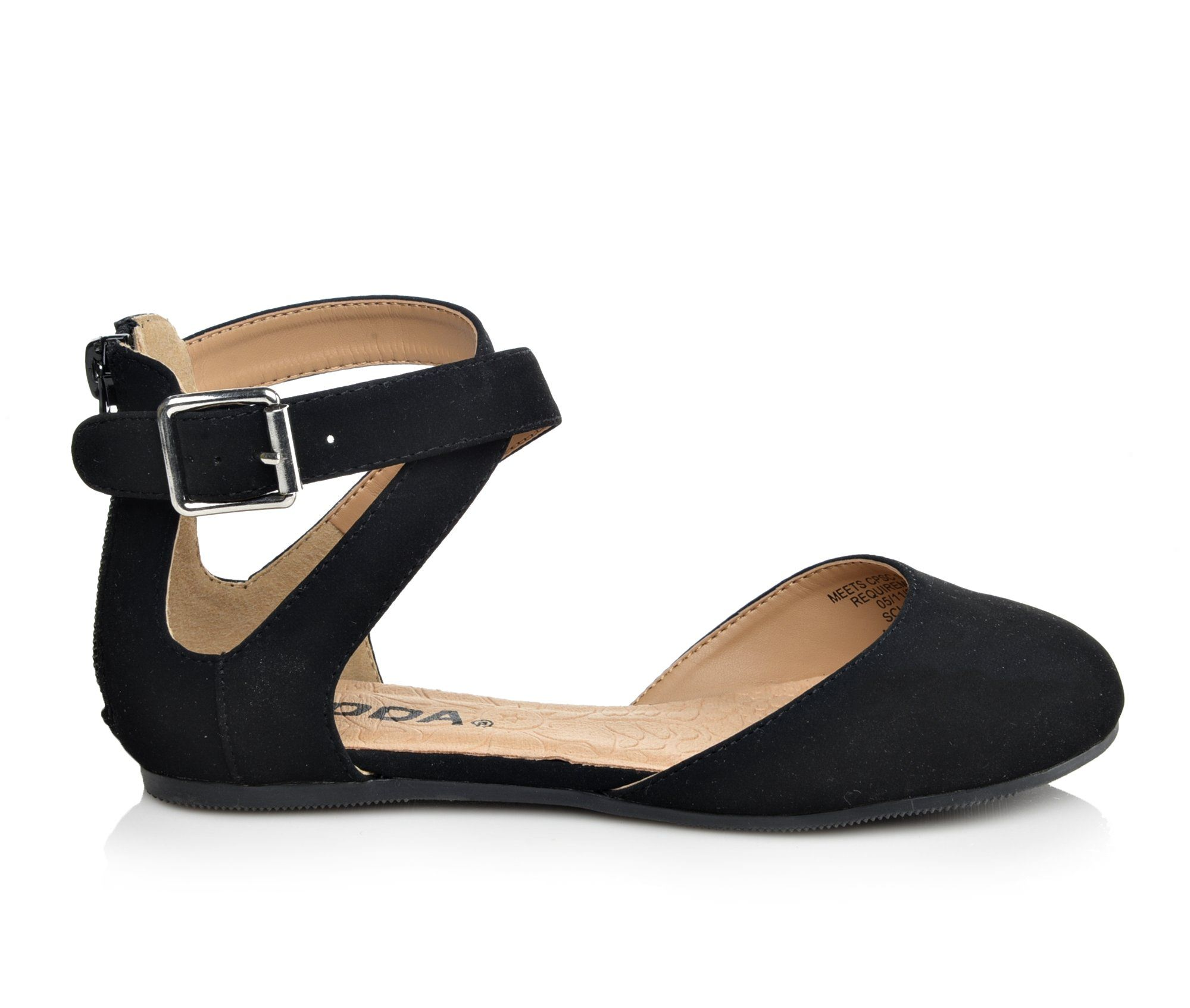 Girls' Soda Kiner IIS Children's Shoes (Black)