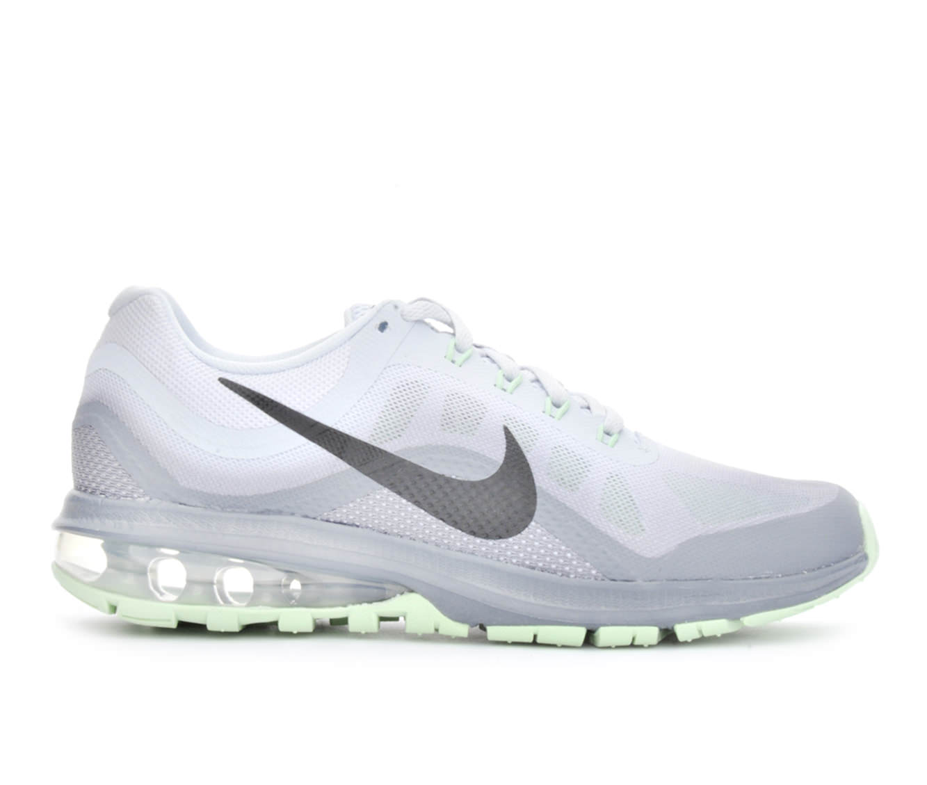 Women's Nike Air Max Dynasty 2 Running Shoes (Grey - Size 10) 1643206