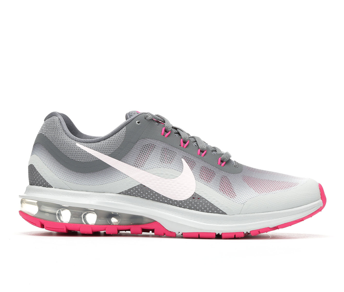 Women's Nike Air Max Dynasty 2 Running Shoes (Grey - Size 11) 1689396