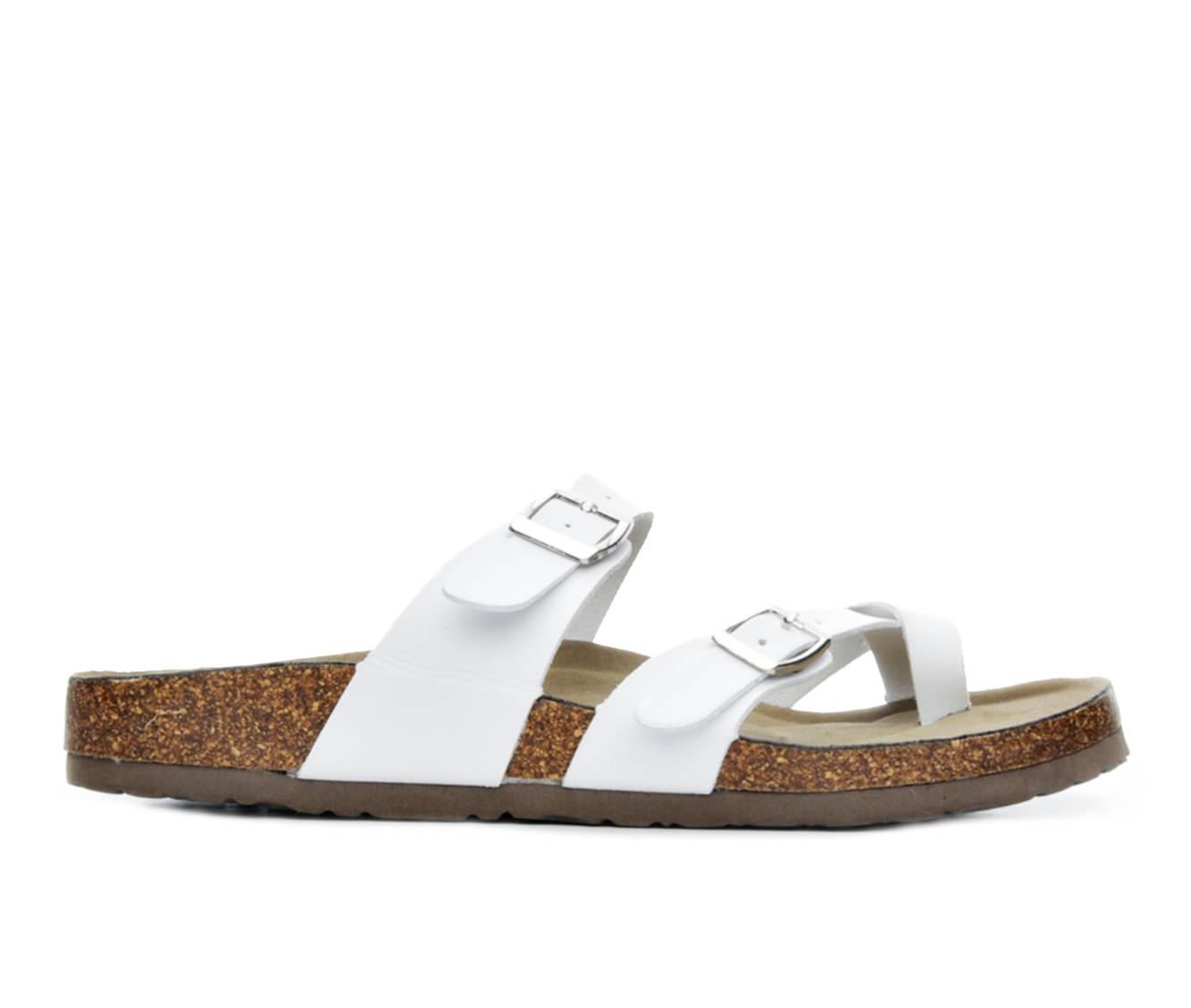Women's Madden Girl Bryceee Sandals (White)
