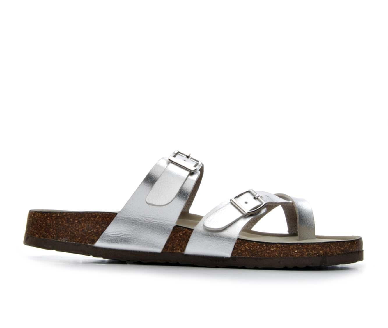 Women's Madden Girl Bryceee Sandals (Silver)