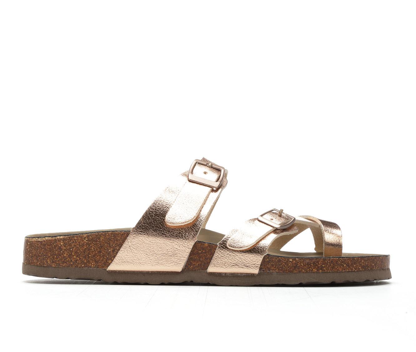 Women's Madden Girl Bryceee Sandals (Gold)