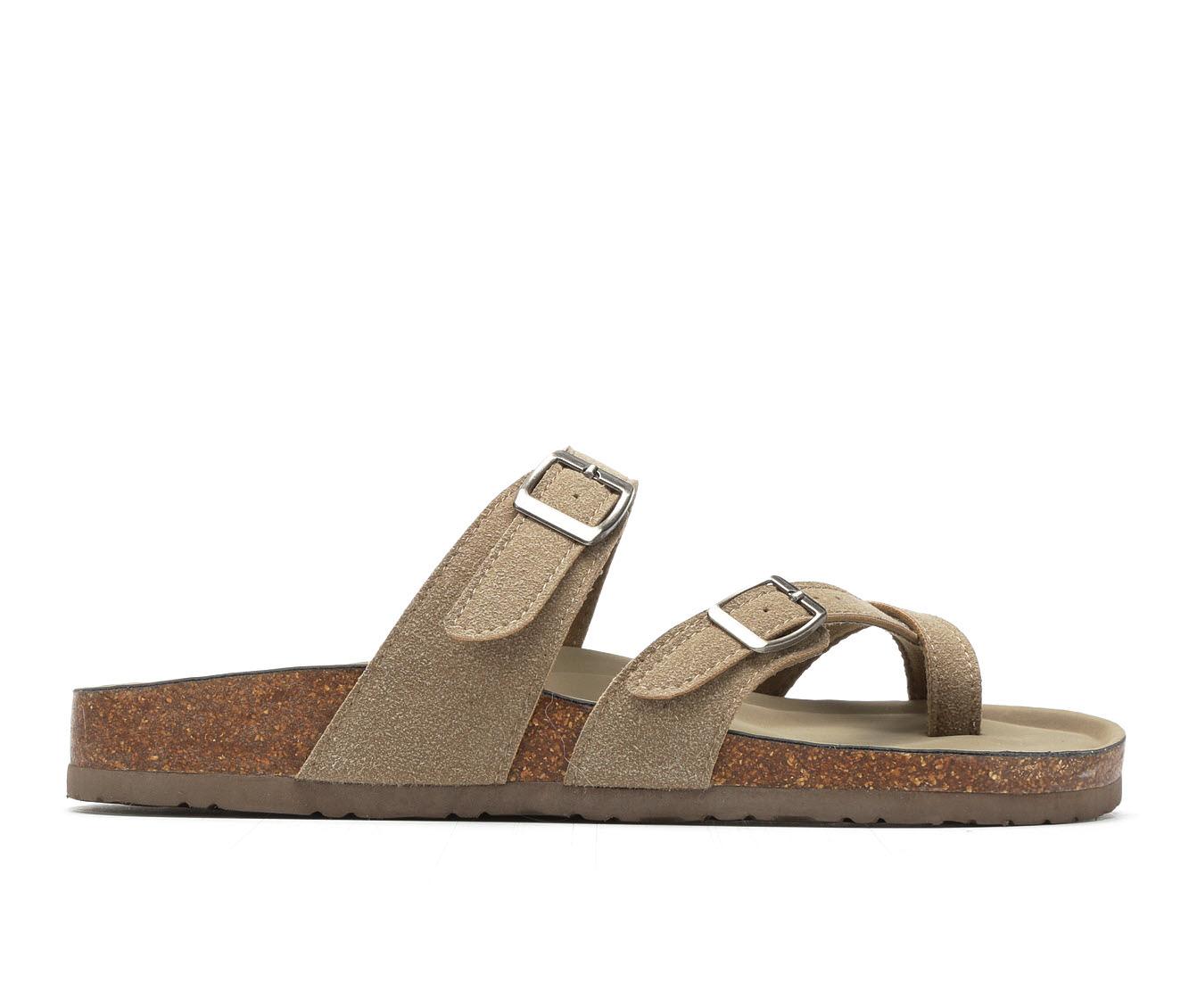 Women's Madden Girl Bryceee Sandals (Beige)