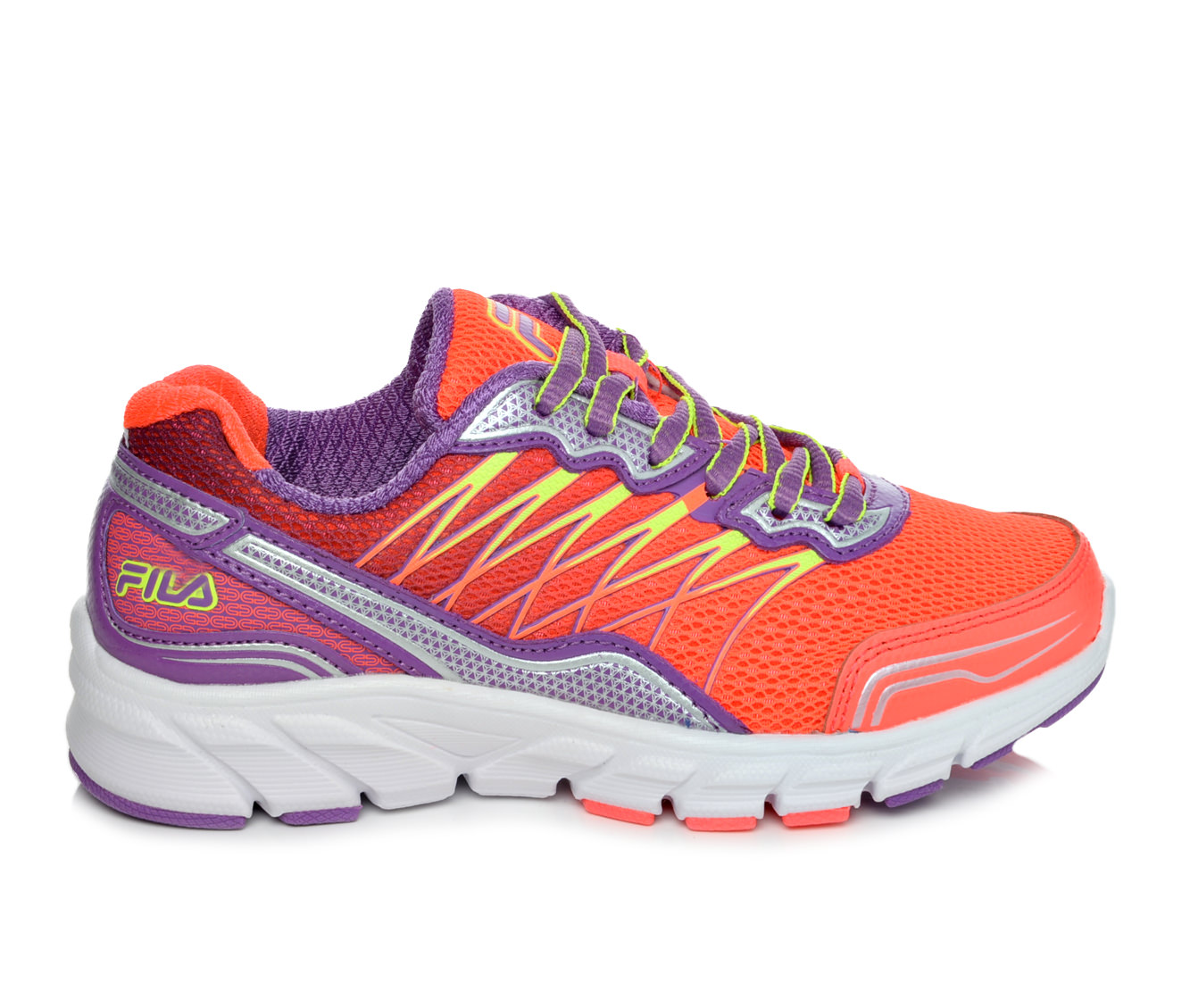 Girls' Fila Countdown 2 Running Shoes (Pink - Size 10.5 - Little Kid) 1602082