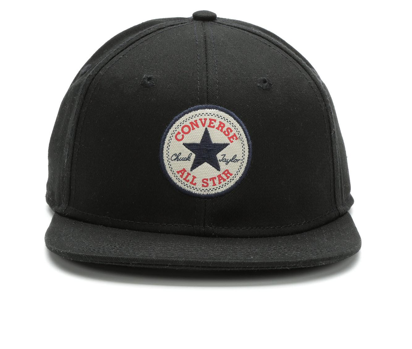 Converse Snapback Flatbill Hat (Black - Size UNSZ) 1663871