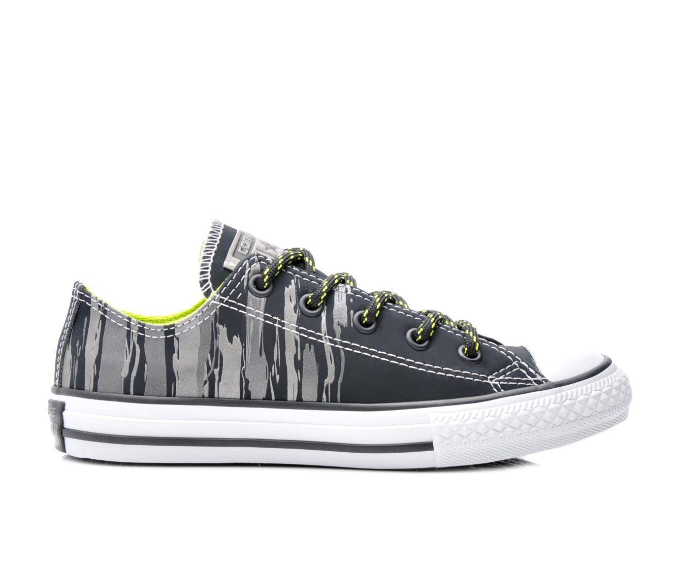 Boys' Converse Chuck Taylor Ox Flash Flood Sneakers (Black)