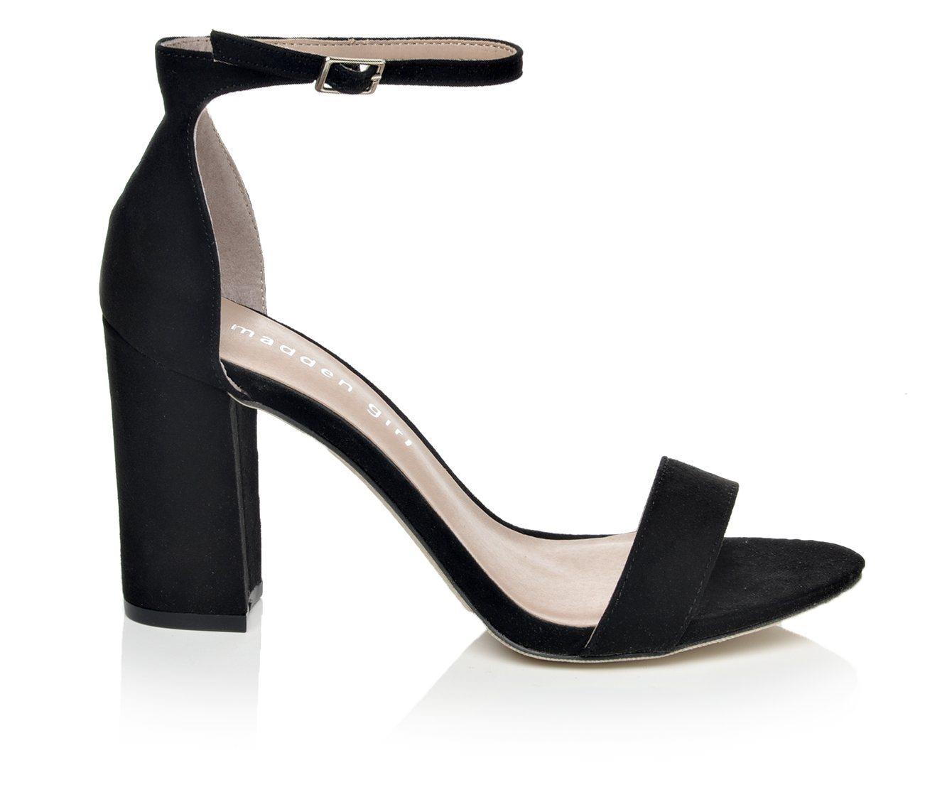Women's Madden Girl Beella Block Heels (Black)