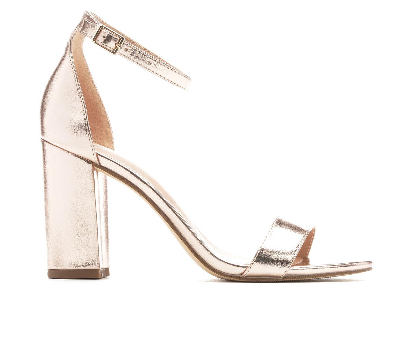 Women's Madden Girl Beella Block Heels (Gold)