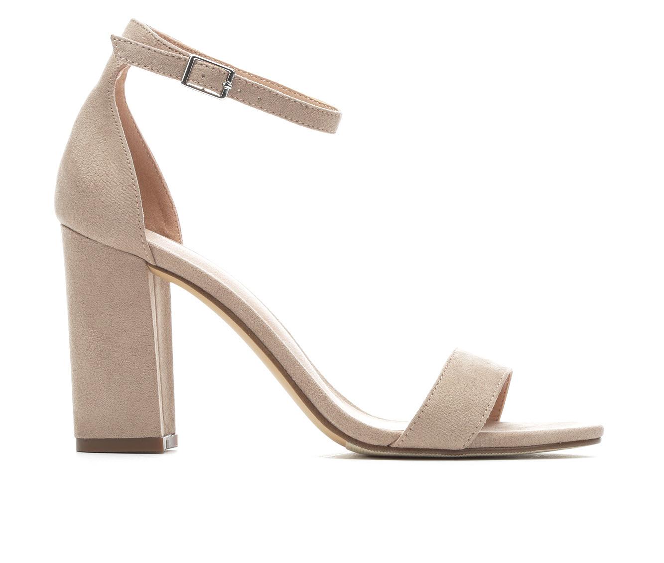 Women's Madden Girl Beella Block Heels (Pink)