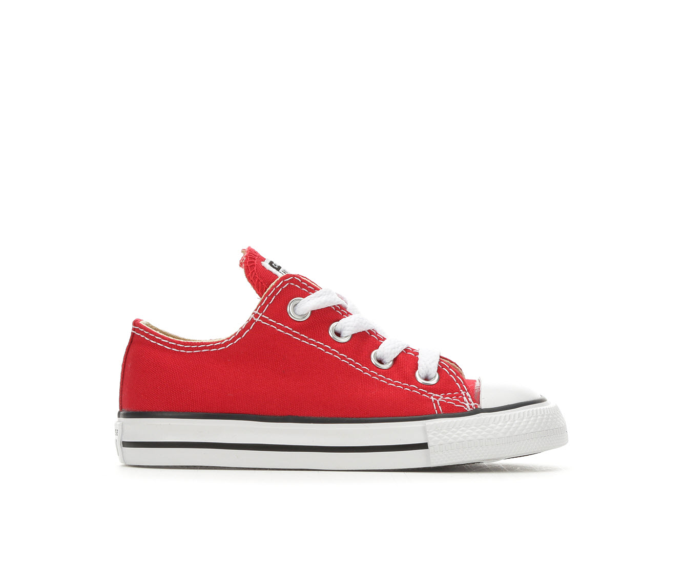 Girls' Converse Chuck Taylor All Star Infant Ox Sneakers (Red)