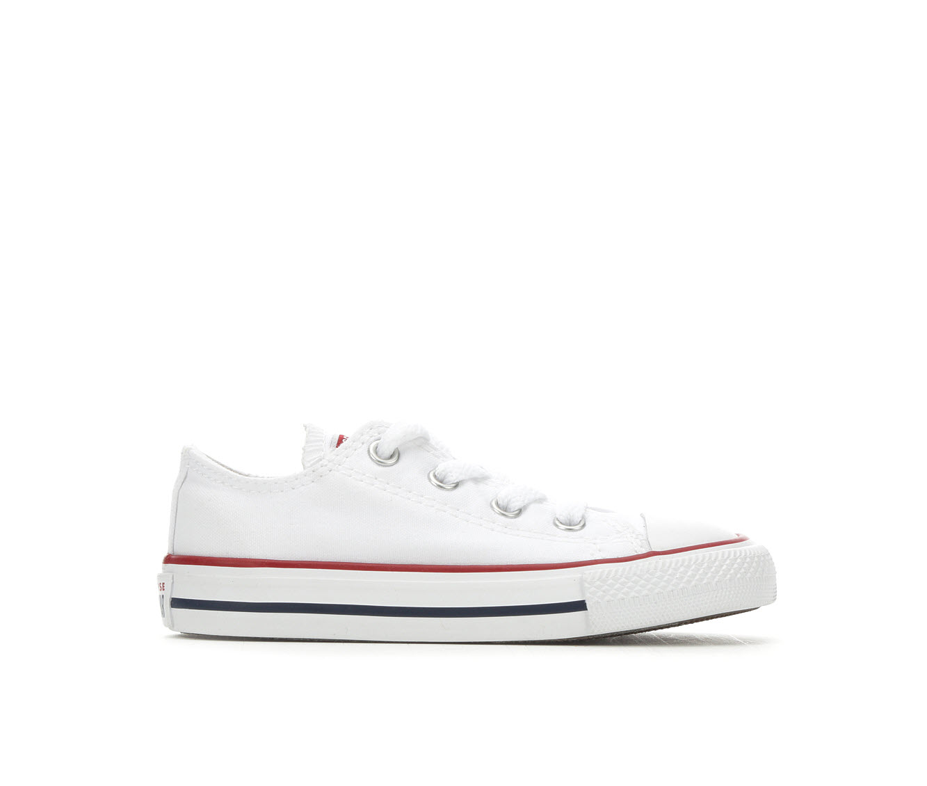 Girls' Converse Chuck Taylor All Star Infant Ox Sneakers (White)