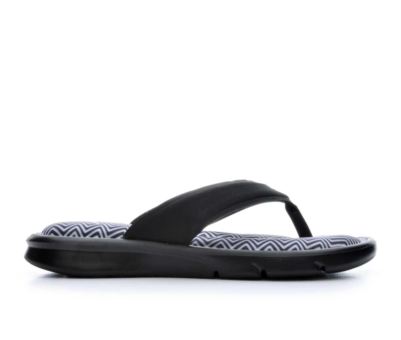 Women's Nike Ultra Comfort Print Sandals (Black)