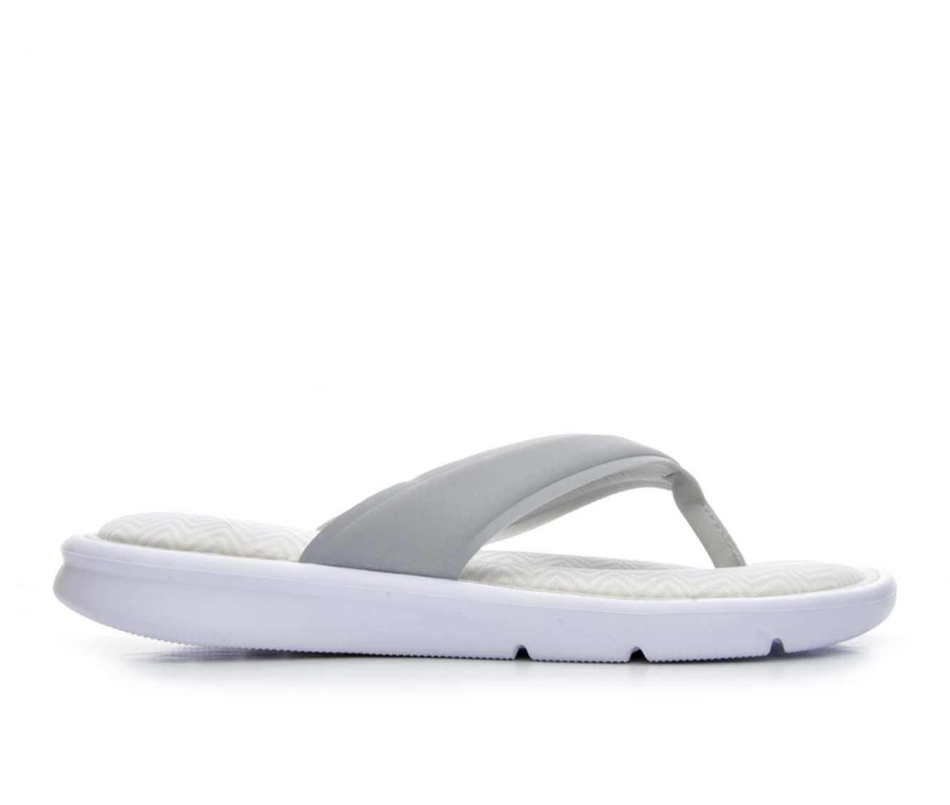 Women's Nike Ultra Comfort Print Sandals (Grey)