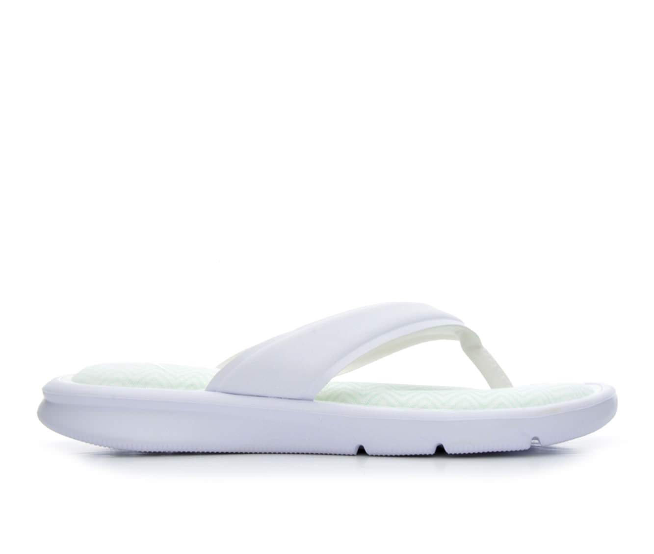 Women's Nike Ultra Comfort Print Sandals (White)