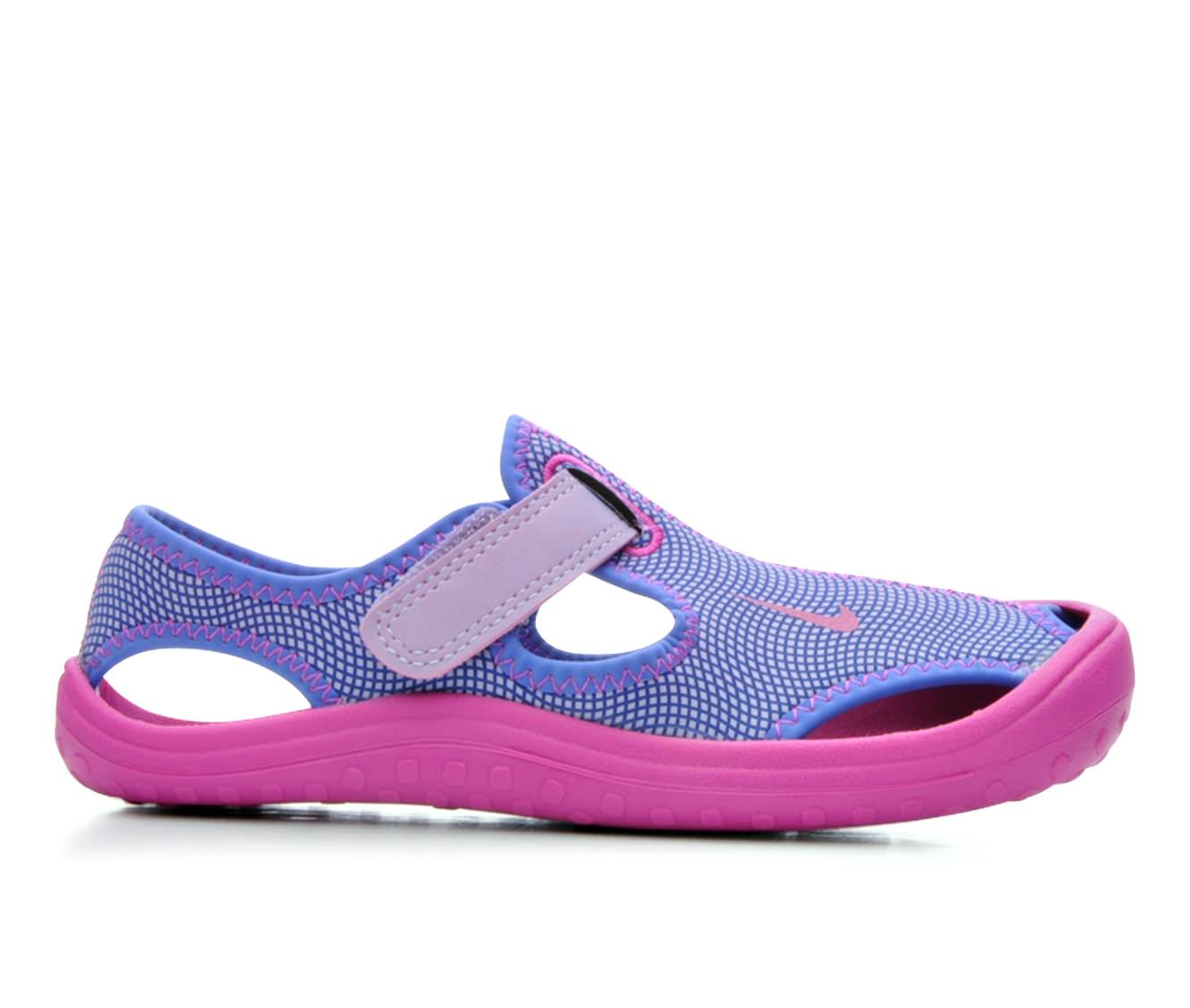 Girls' Nike Sunray Protect 17 G Sandals (Purple)
