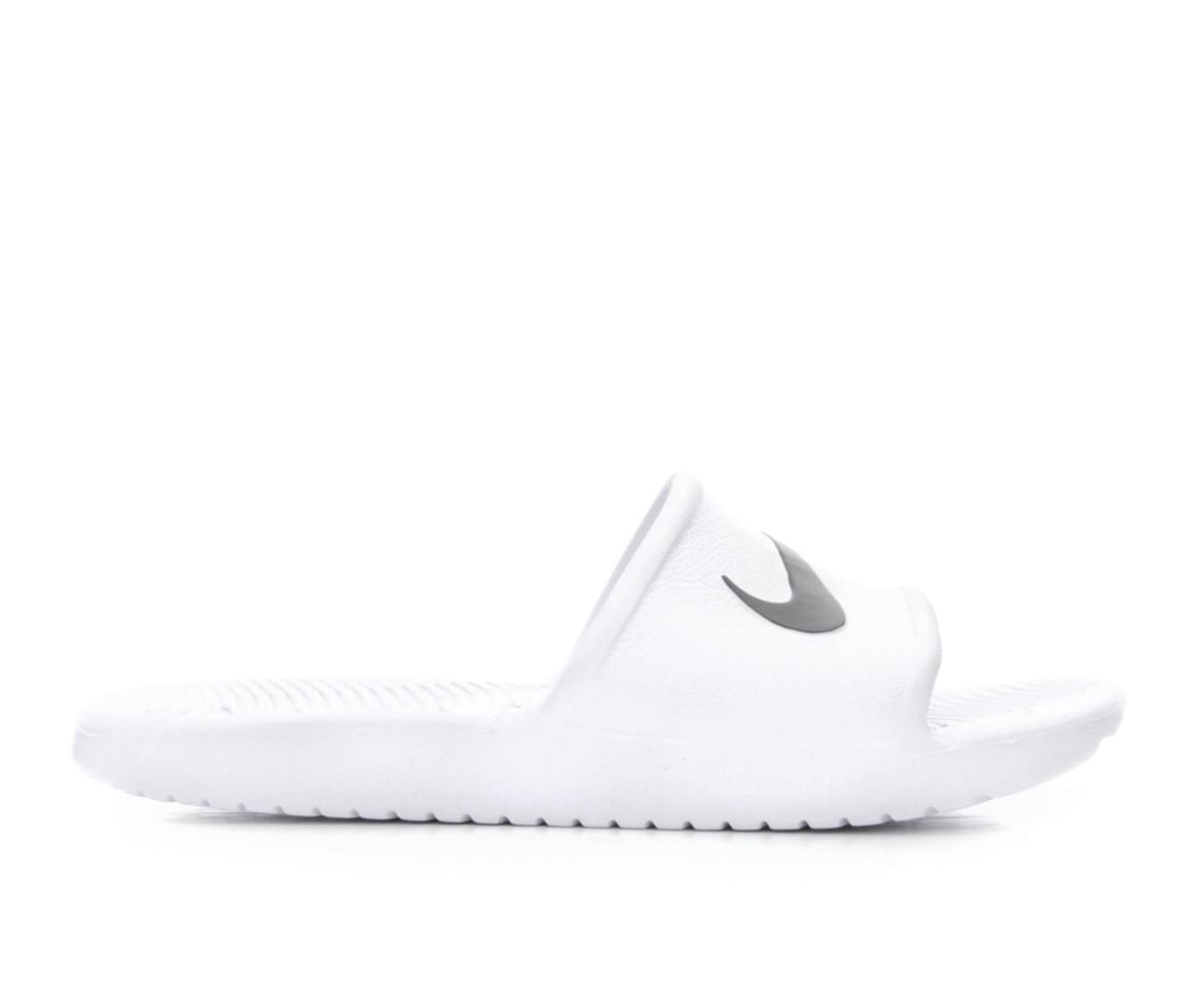 Women's Nike Kawa Shower Sport Shoes (White)