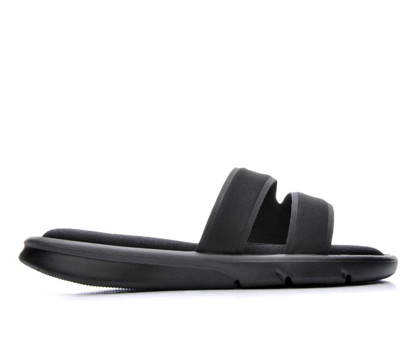 Women's Nike Ultra Comfort Slide Sandals (Black)