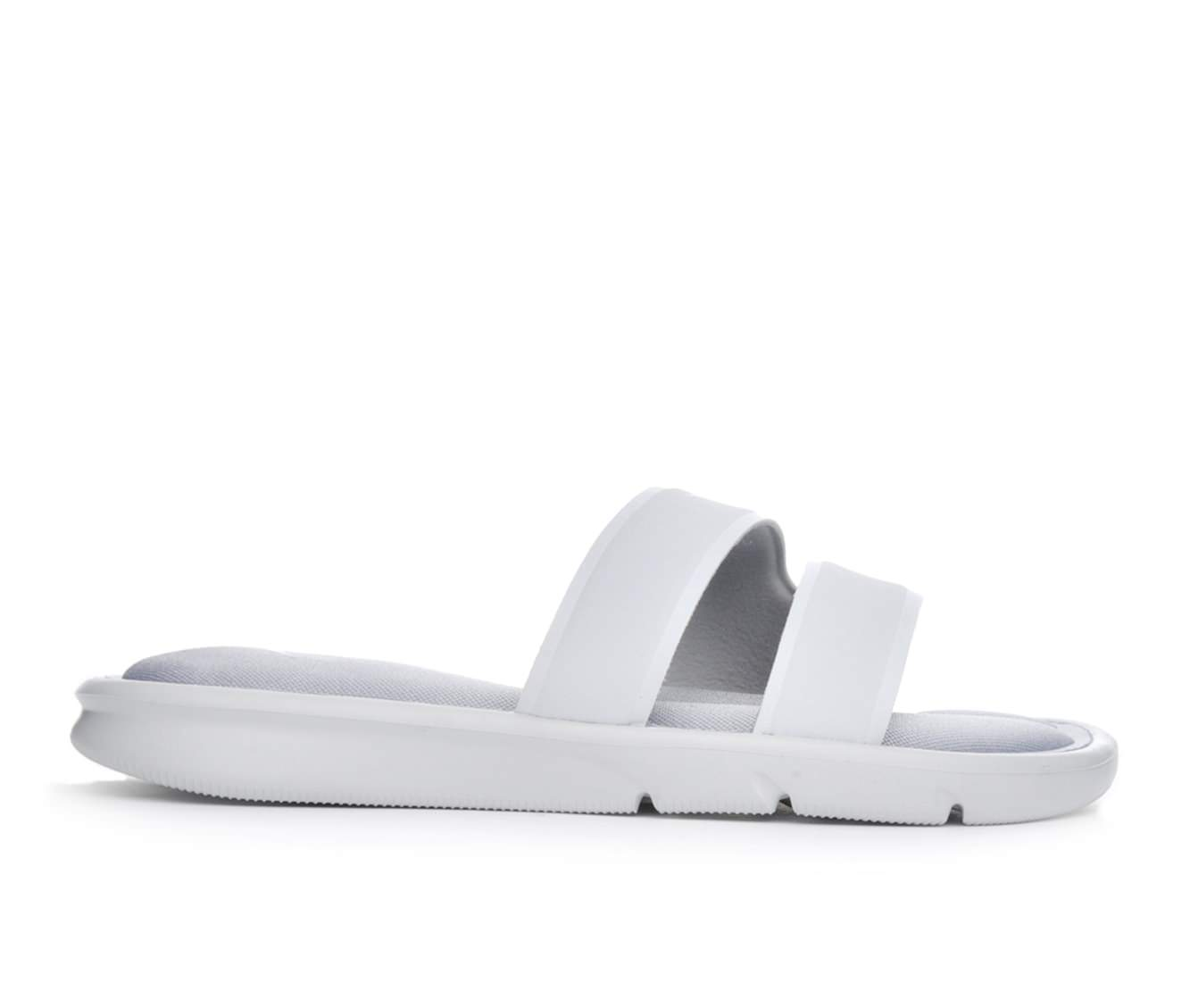 Women's Nike Ultra Comfort Slide Sandals (Grey)