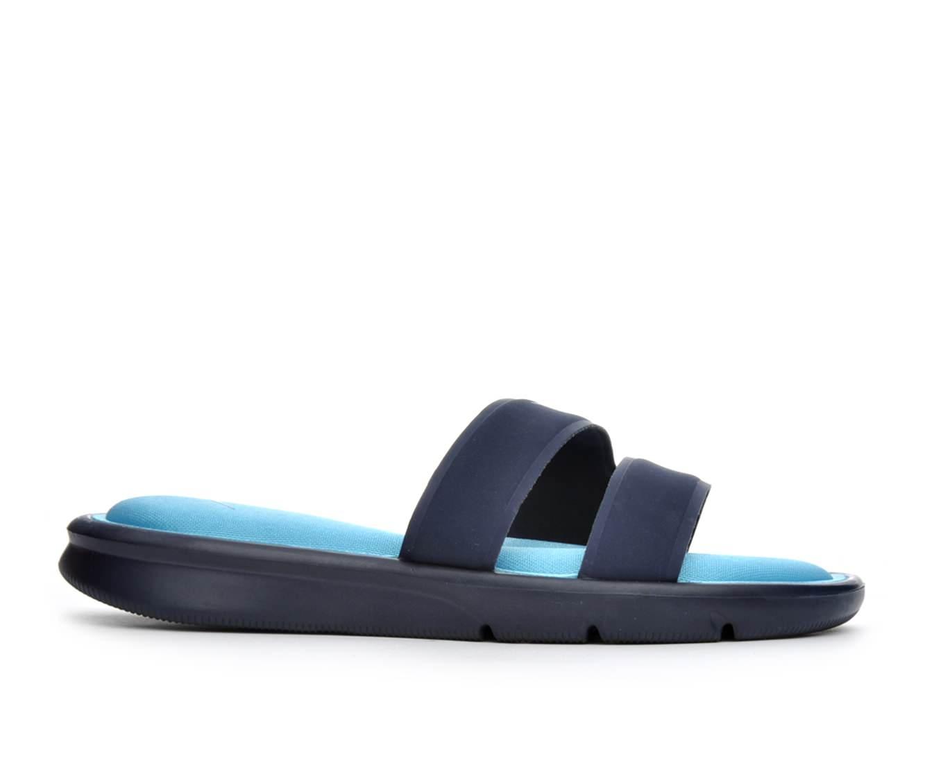 Women's Nike Ultra Comfort Slide Sandals (Blue)