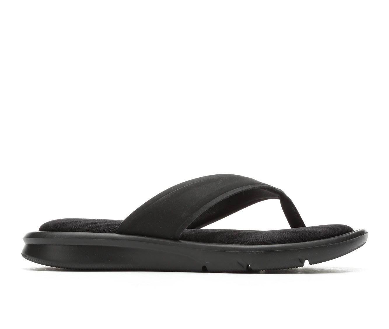 Women's Nike Ultra Comfort Thong Sandals (Black)