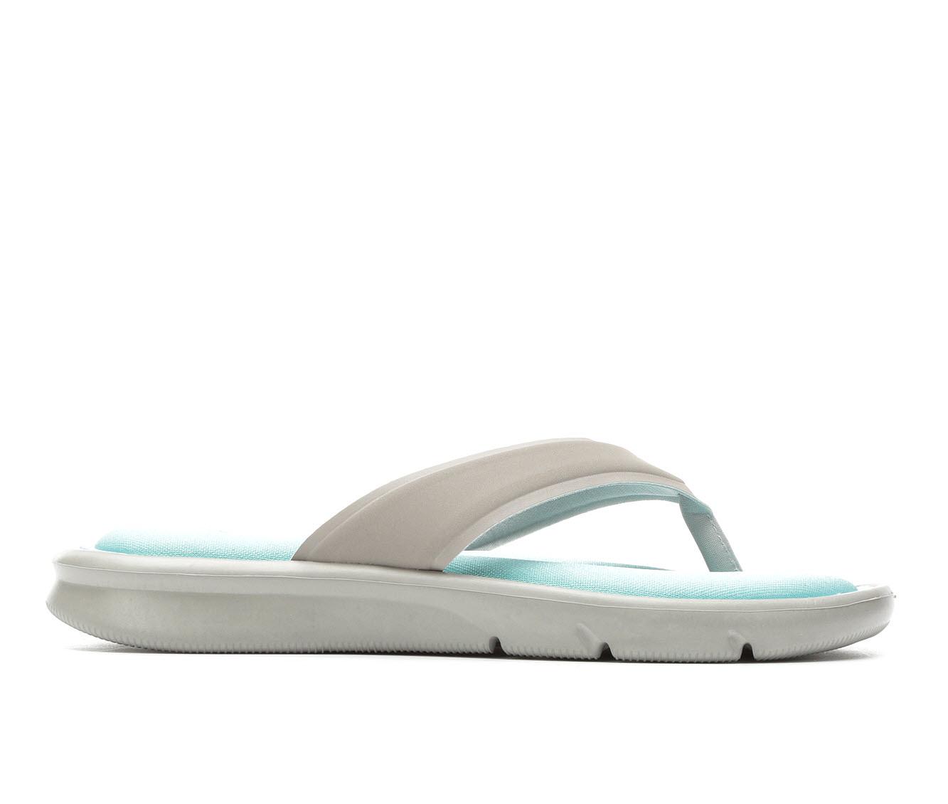 Women's Nike Ultra Comfort Thong Sandals (Grey)