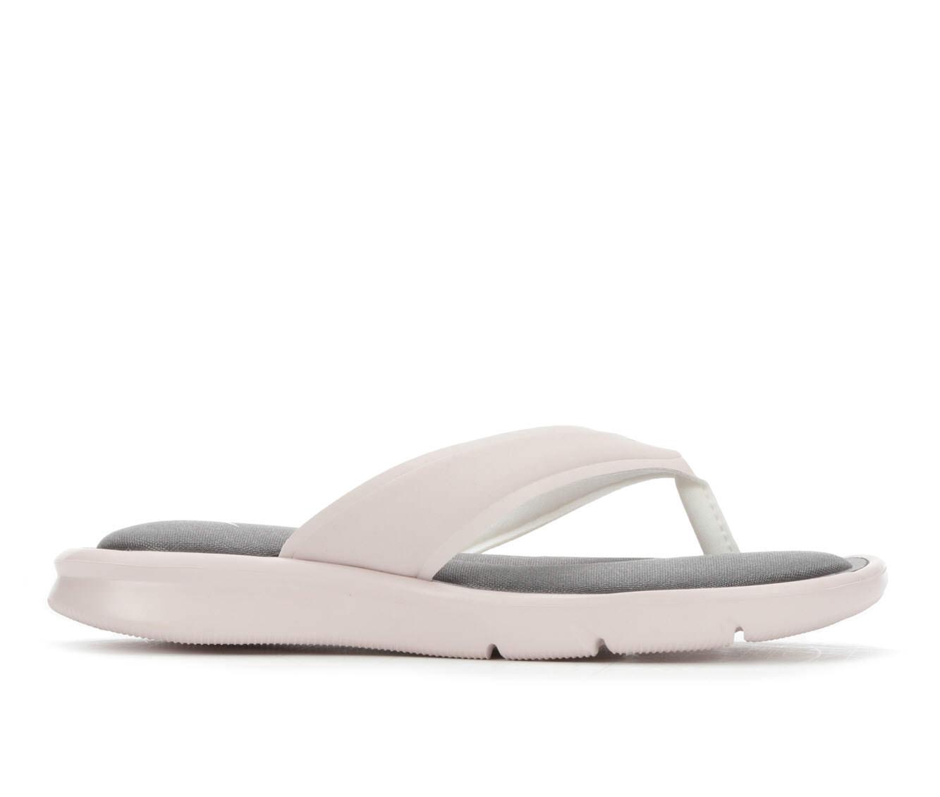 Women's Nike Ultra Comfort Flip-Flop Sandals (Pink - Size 7) 1711053
