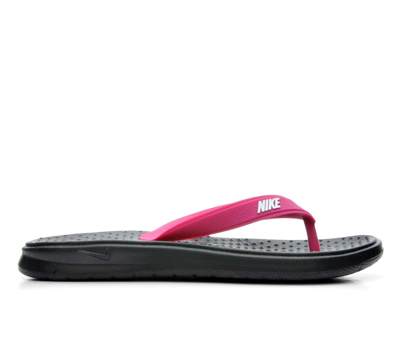 Women's Nike Solay Thong Sandals (Pink)