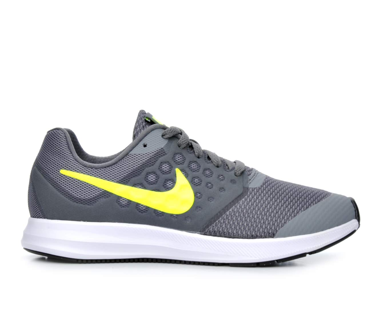 Boys' Nike Downshifter 7 Running Shoes (Grey)