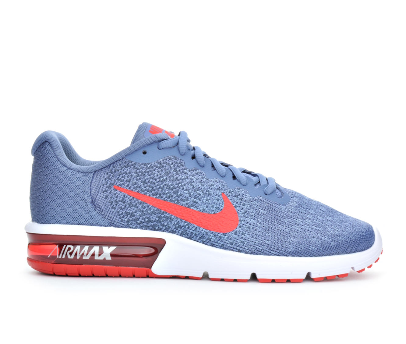 Men's Nike Air Max Sequent 2 Running Shoes (Blue - Size 10.5) 1649021