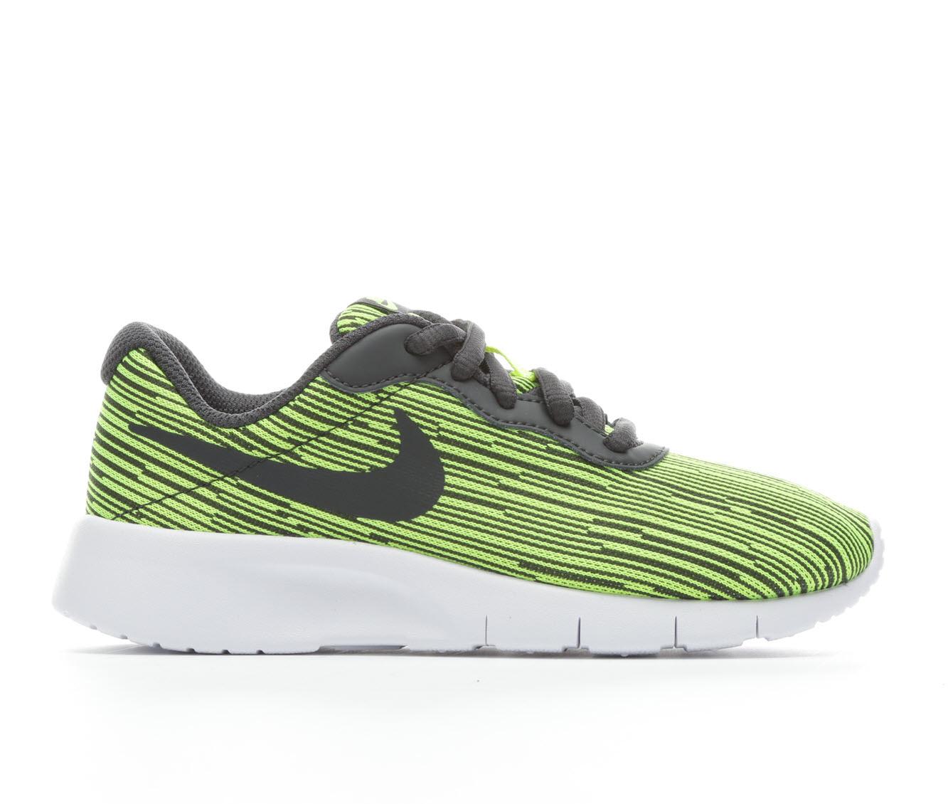 Boys' Nike Tanjun Special Edition Sneakers (Green - Size 10.5 - Little Kid) 1657121