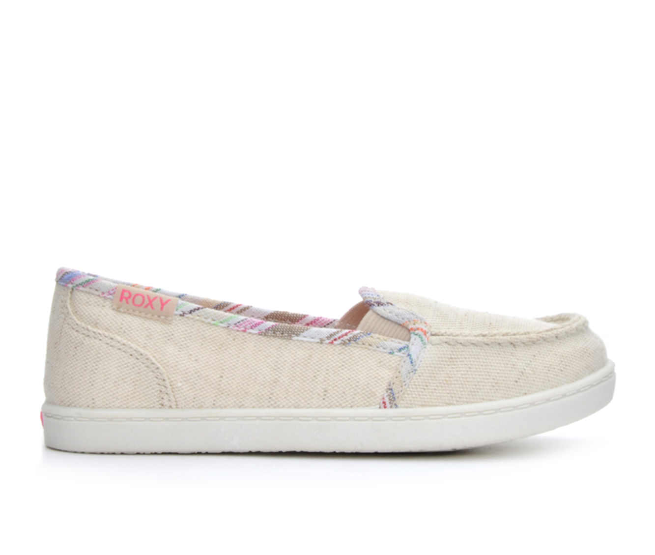 Girls' Roxy RG Lido IV Sneakers (Beige)