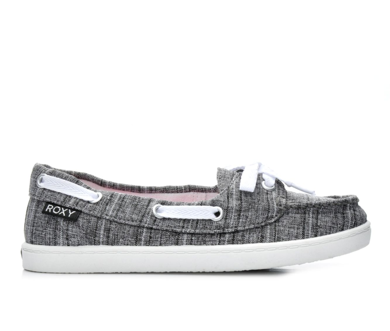 Girls' Roxy RG Ahoy Boat Shoes (Black)