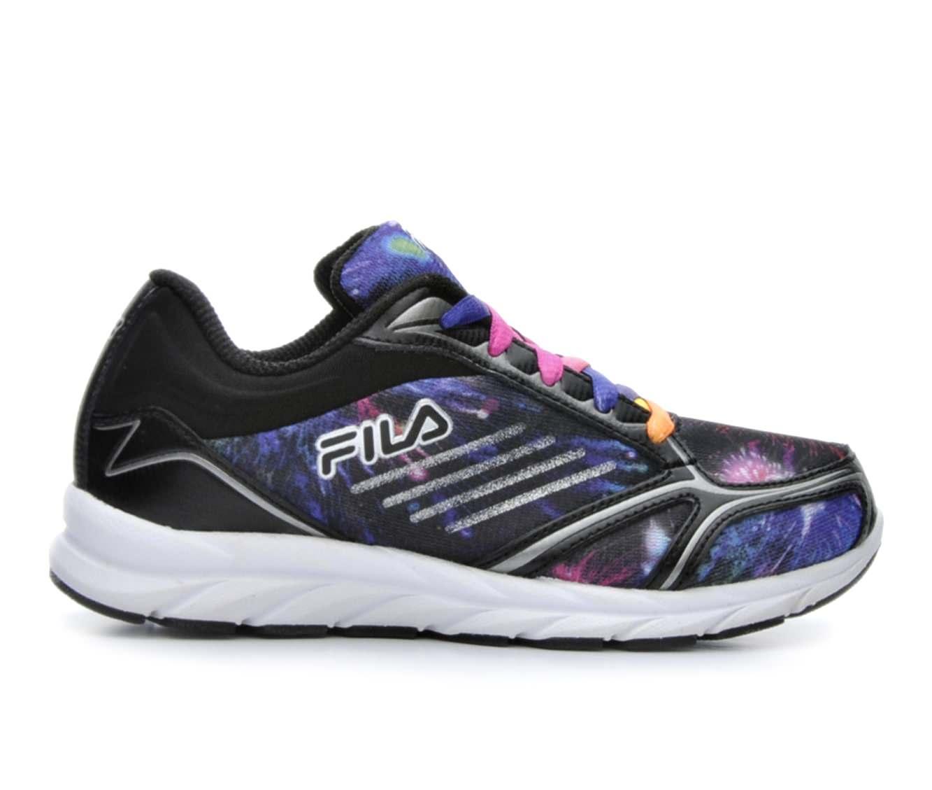 Girls' Fila Tempura 2 Running Shoes (Black - Size 10.5 - Little Kid) 1613063