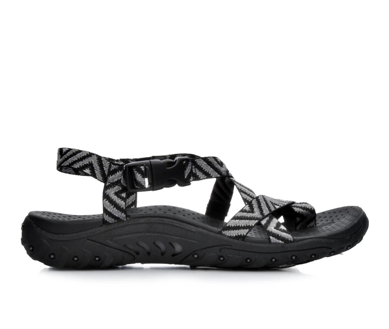 Women's Skechers Reggae Haystack 40872 Sandals (Black)