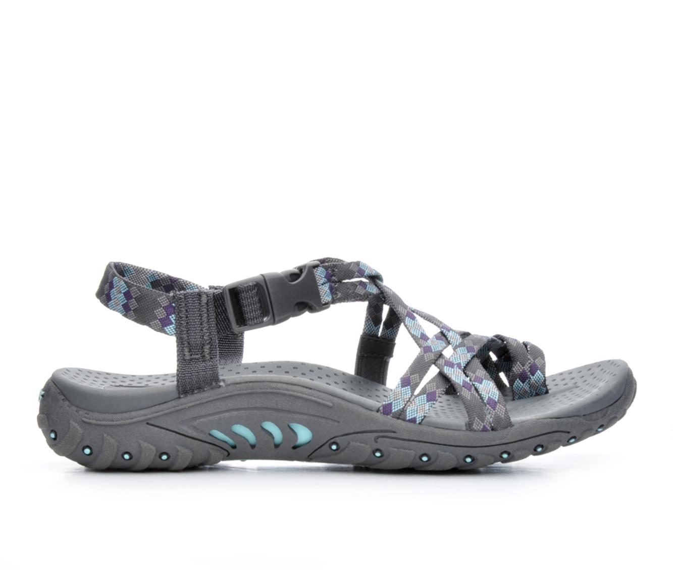 Women's Skechers Reggae 40950 Sandals (Grey)