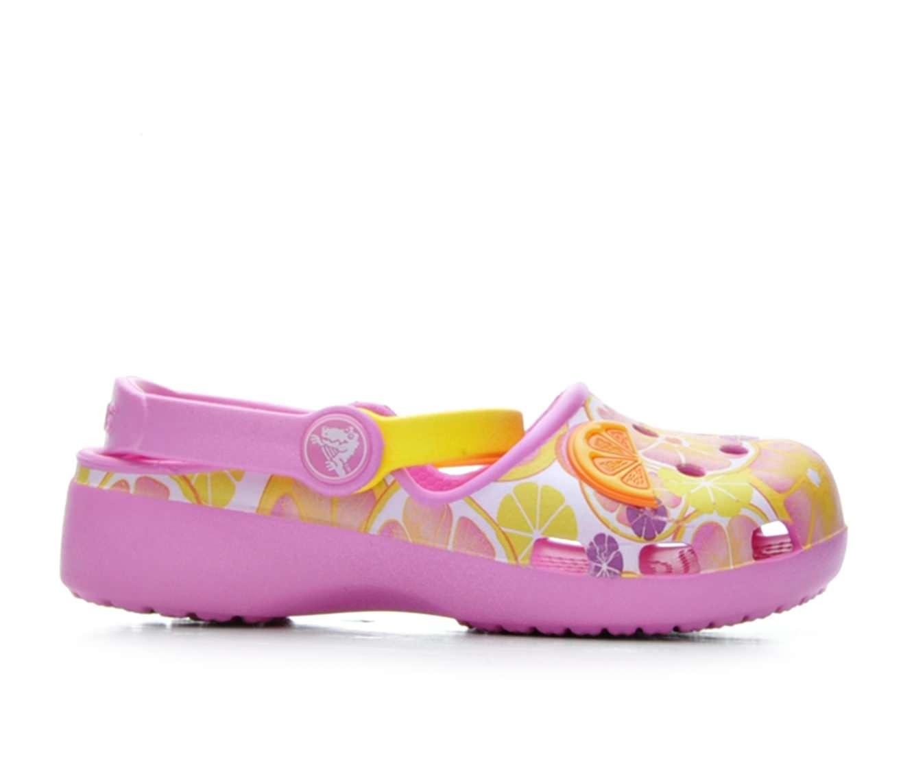 Girls' Crocs Karin Novelty Children's Shoes (Pink)