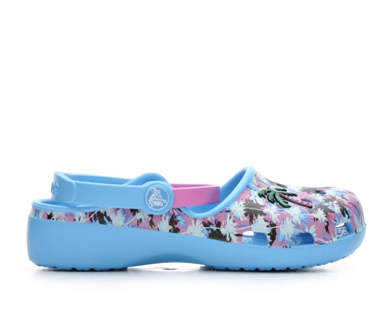 Girls' Crocs Karin Novelty Children's Shoes (Blue)