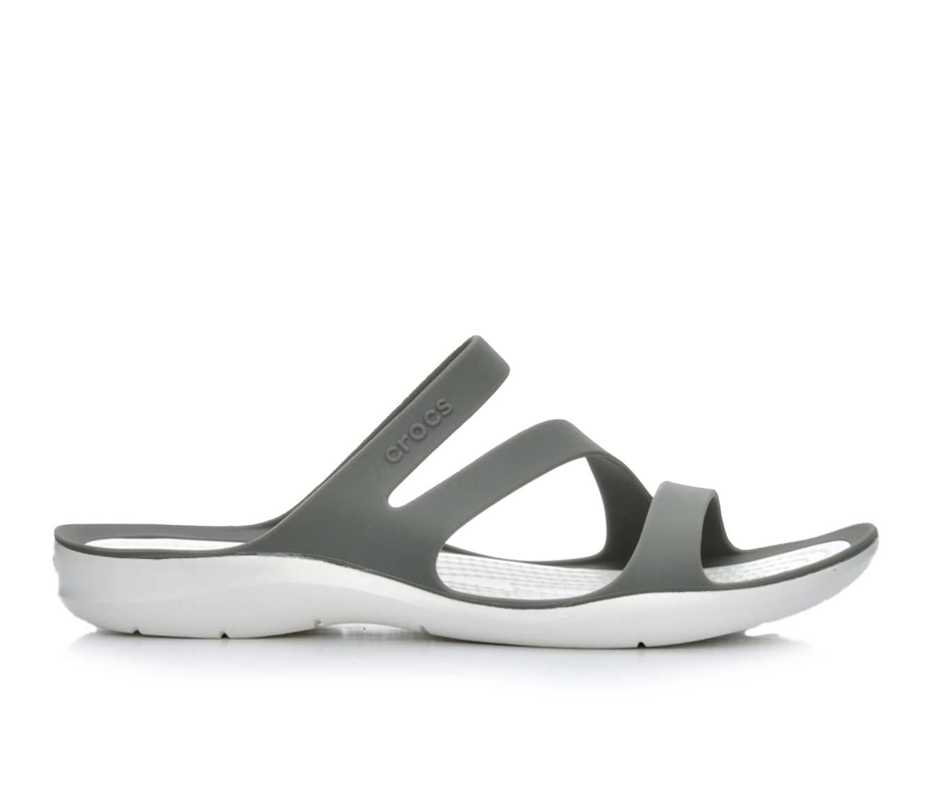 Women's Crocs Swiftwater Sandal W Sandals (Grey)