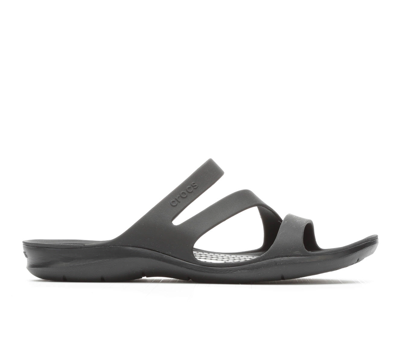 Women's Crocs Swiftwater Sandal W Sandals (Black)