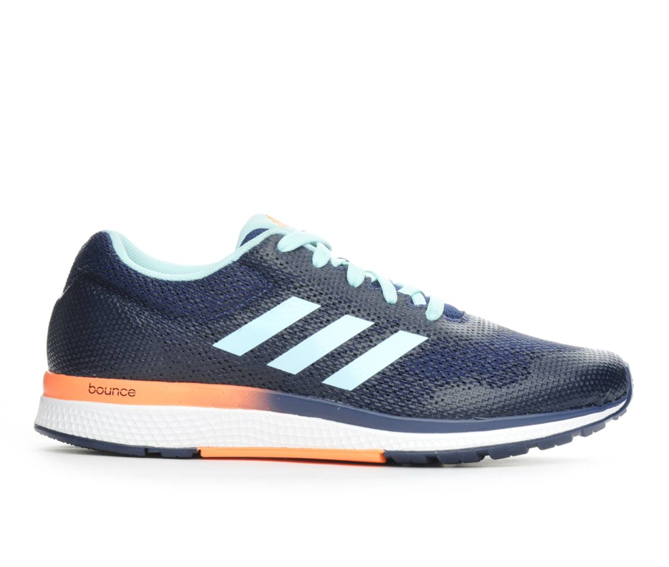 Women's Adidas Mana Bounce 2 W Aramis Running Shoes (Blue - Size 9.5) 1616839