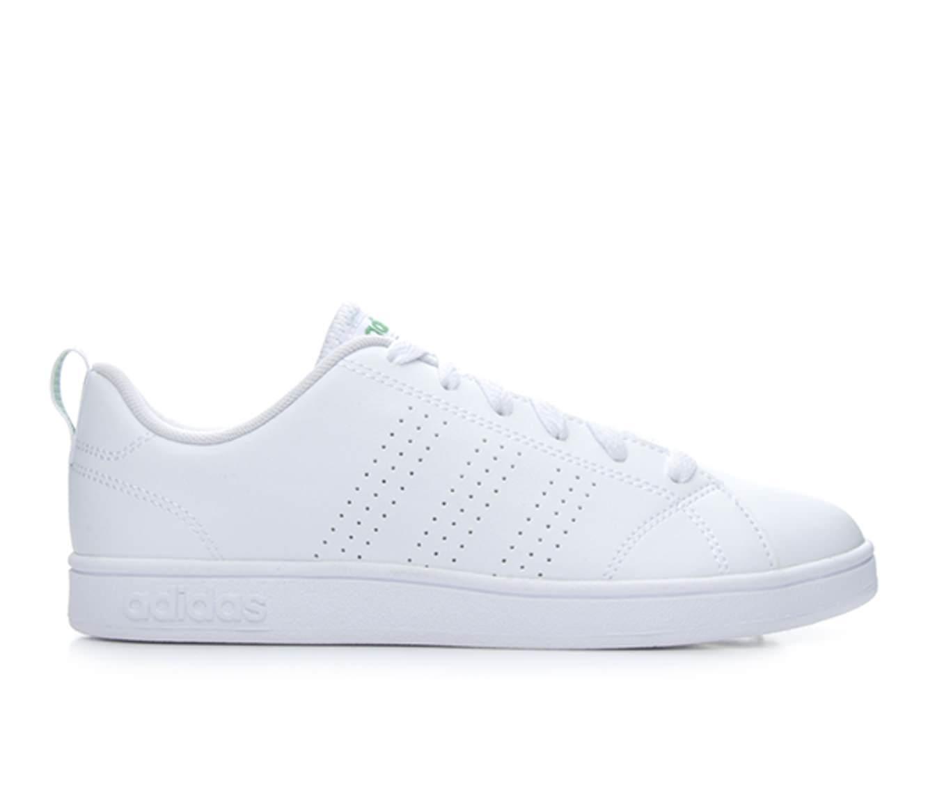 Girls' Adidas VS Advantage Clean K Sneakers (White)