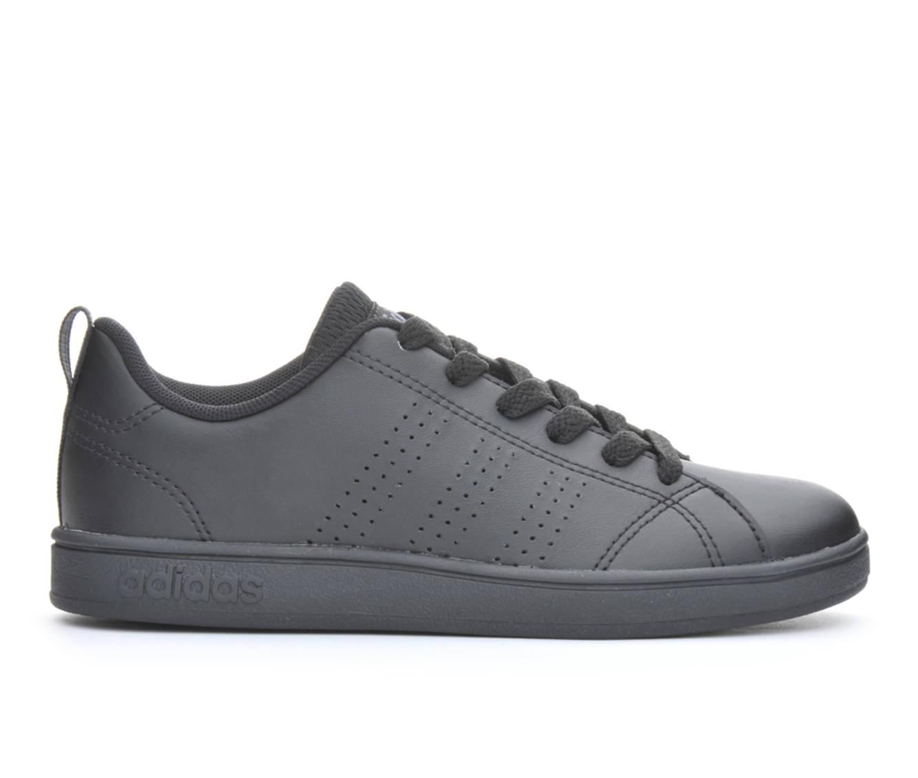 Girls' Adidas VS Advantage Clean K Sneakers (Black)