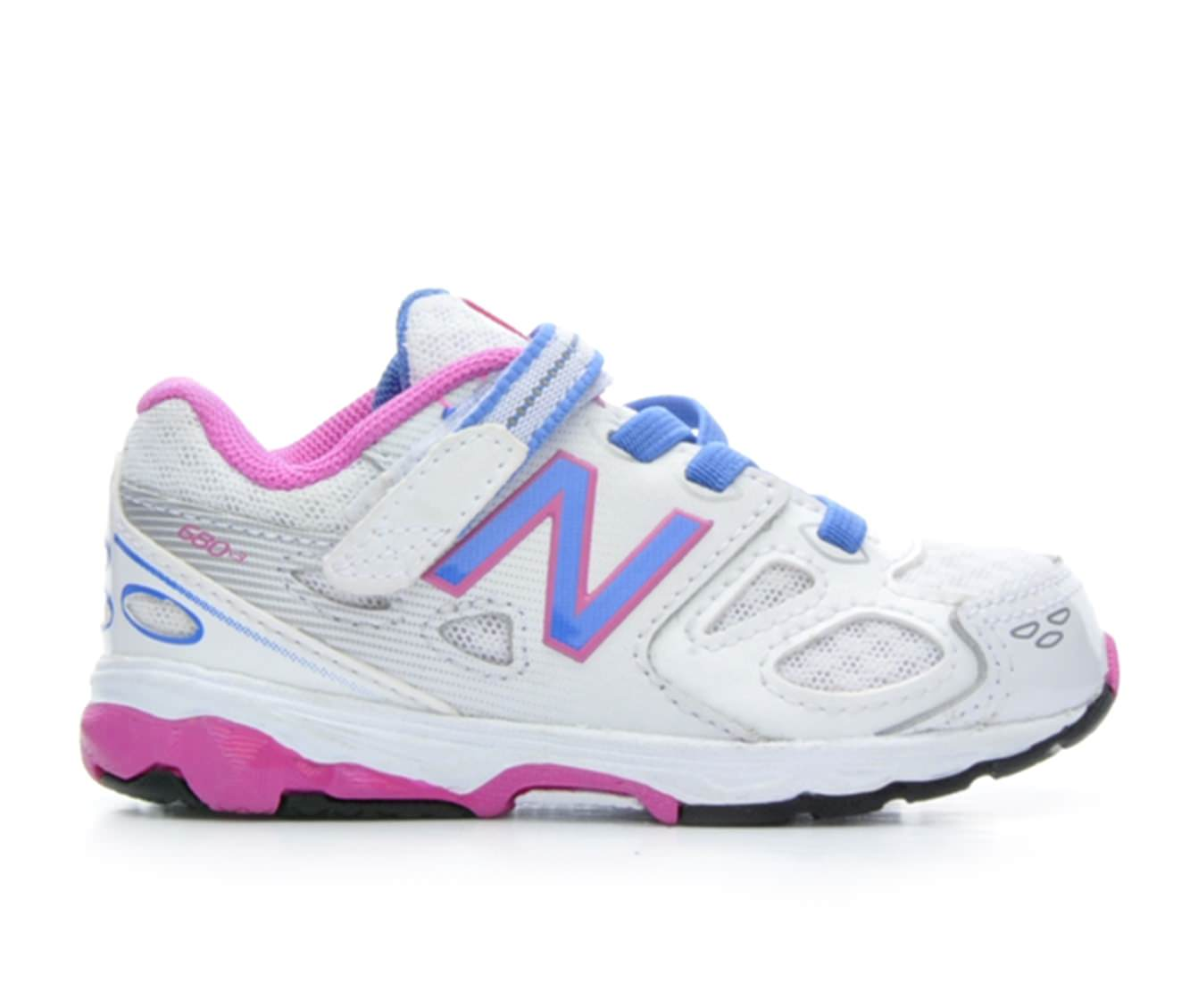Girls' New Balance Infant KA680FBI Sneakers (White)