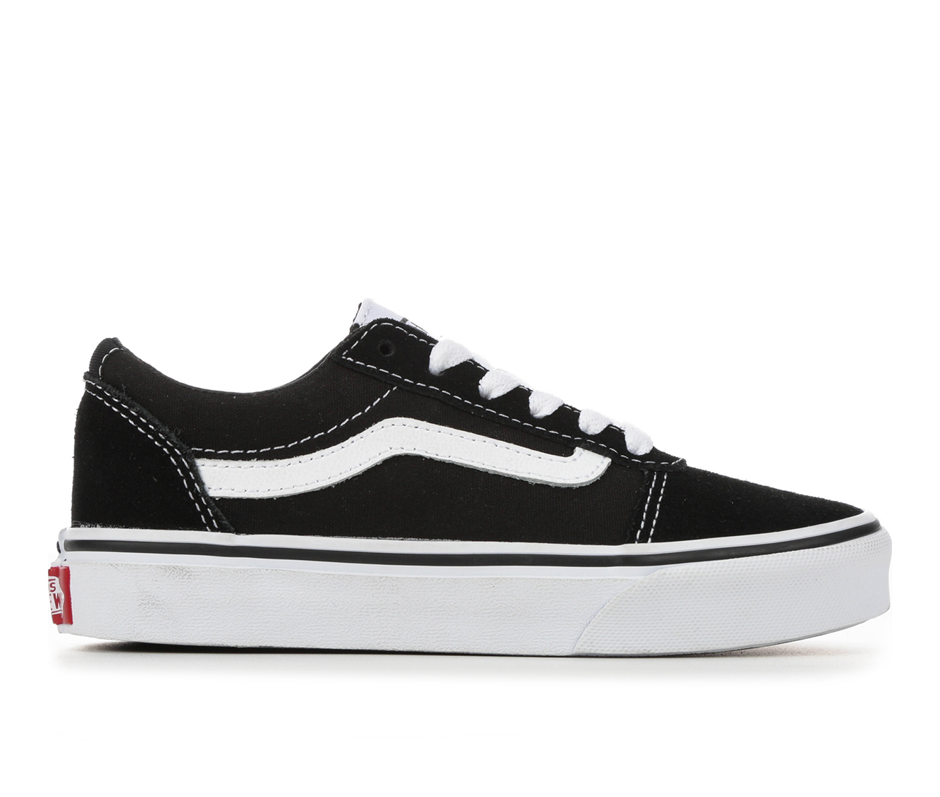 Boys' Vans Ward Sneakers (Black)