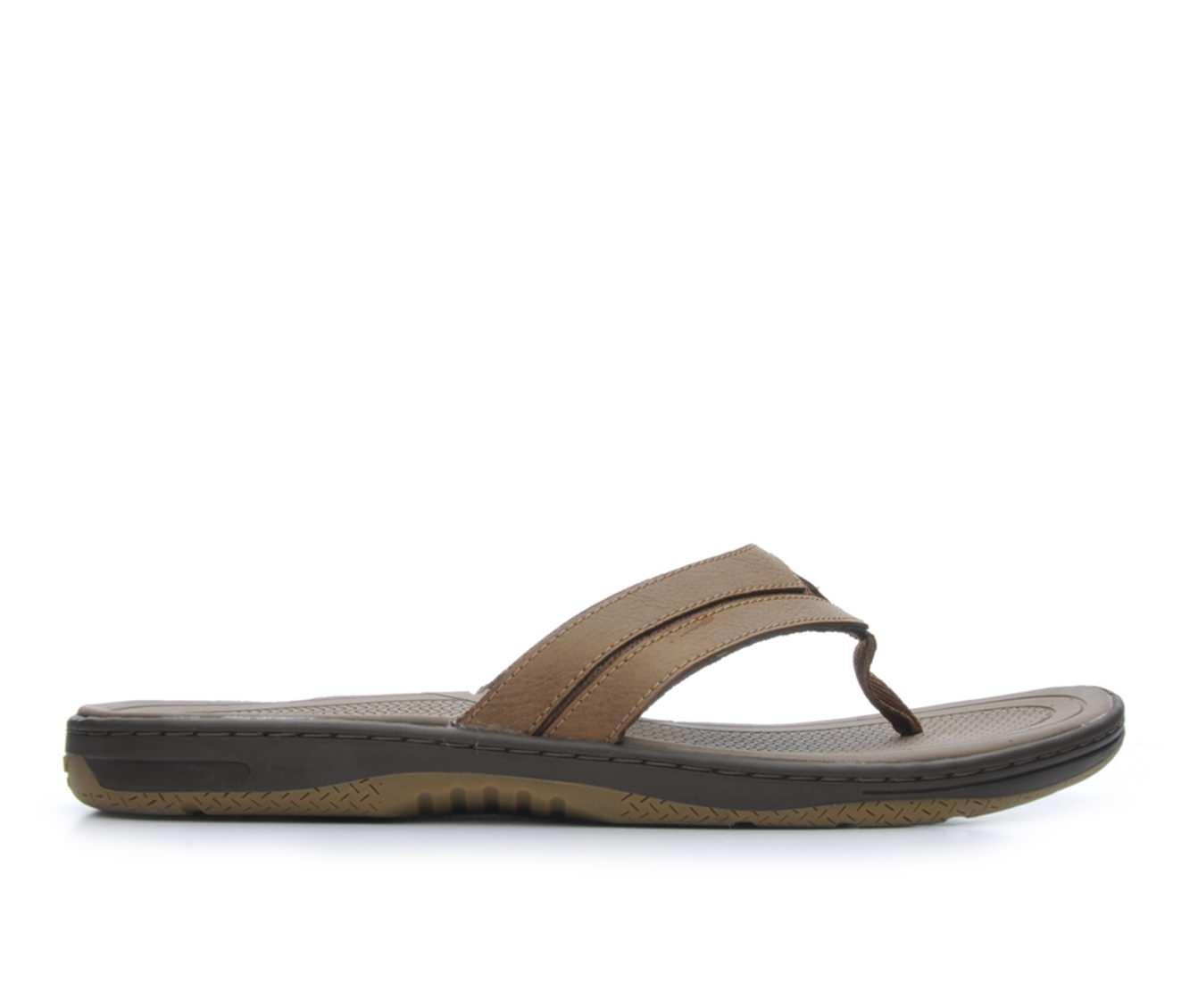 Men's Sperry Havasu Burgee Thong Sandals (Brown)